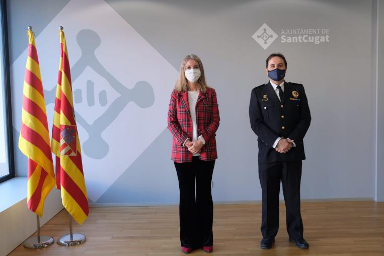 Joaquim Martín, nou inspector en cap de la Policia Local de Sant Cugat