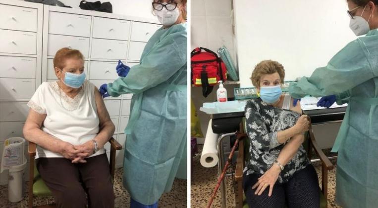 Vacunades 170 persones a Sant Cugat en el primer dia de la campanya