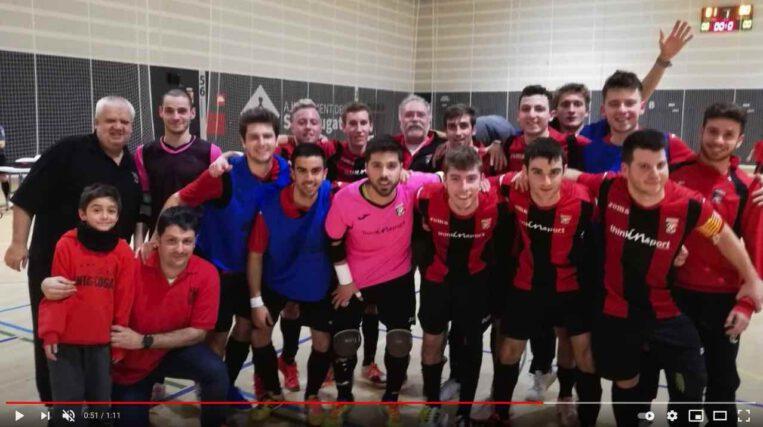 """El partit: Divisió d'Honor F. S. Sant Cugat – F. S. Ripollet """"B""""  20/2/21"""