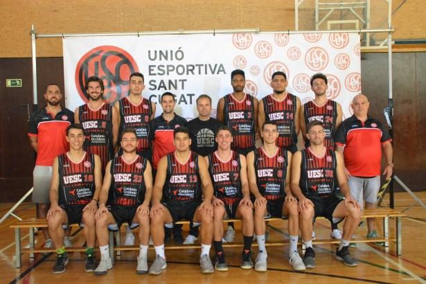 El partit: Basquet masculí amb l'Unió Esportiva  Sant Cugat  14/03/21