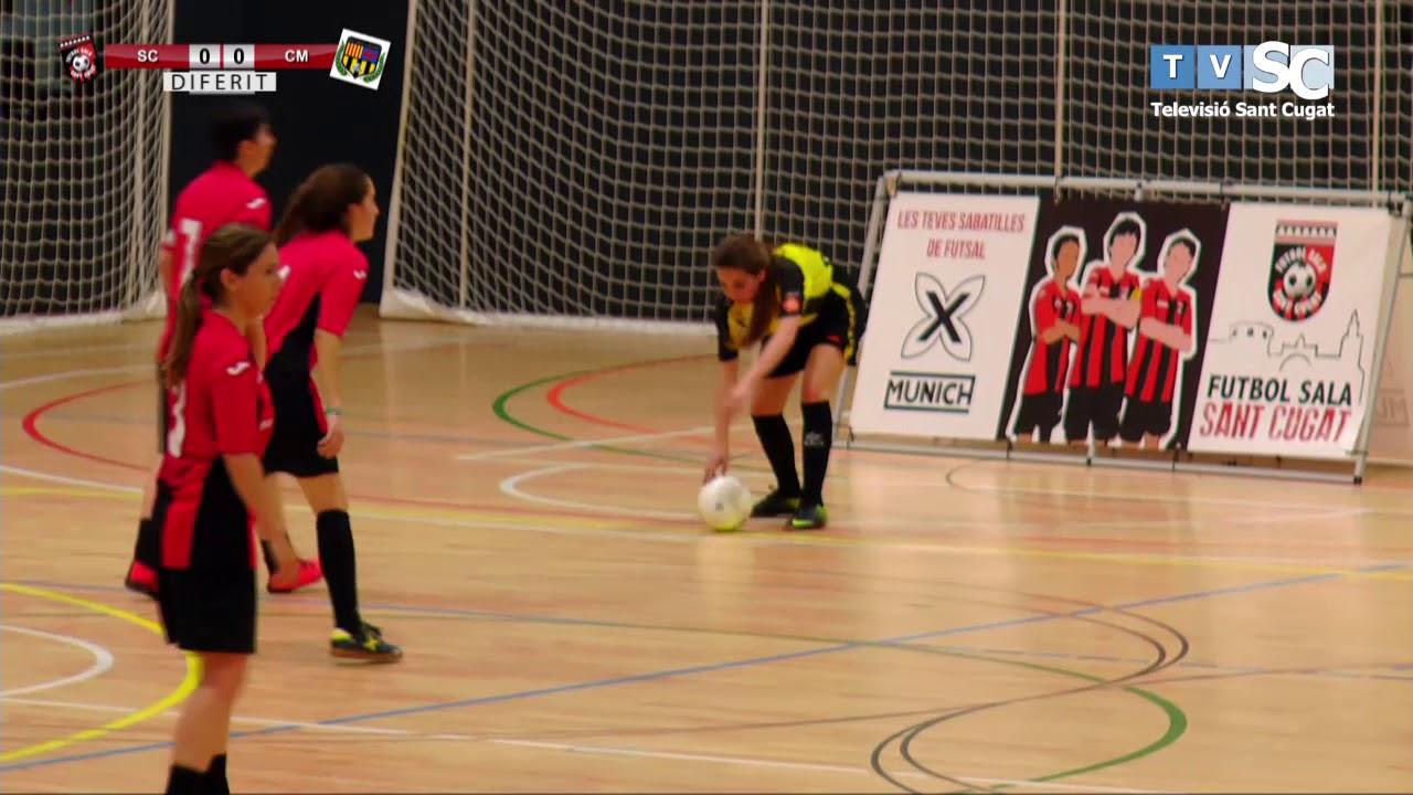 El partit 17/4/21: Derby local de Futbol Sala femení entre el FS Sant Cugat i l'Olimpyc Floresta FS.