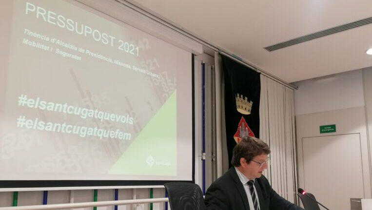 La crisi de la COVID i l'habitatge, les principals prioritats del pressupost municipal, dotat de 152,7 milions d'euros