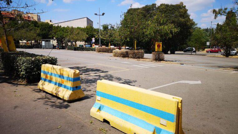 L'Ajuntament tanca l'aparcament situat davant del CAP Sant Cugat per un requeriment de la propietat del terreny