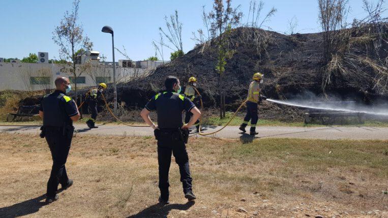 Aquest estiu s'han produït 27 incendis a la ciutat que han cremat 3,1 hectàrees