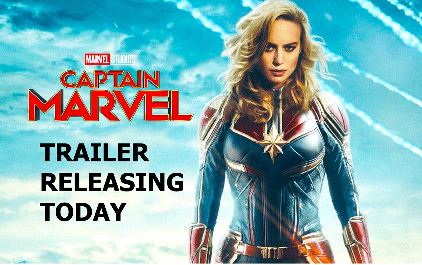 First 'Captain Marvel' trailer introduces Brie Larson's high-flying hero