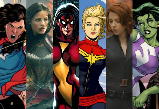 Marvel Female Superhero TV Series