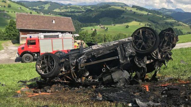 Richard Hammond's Accident