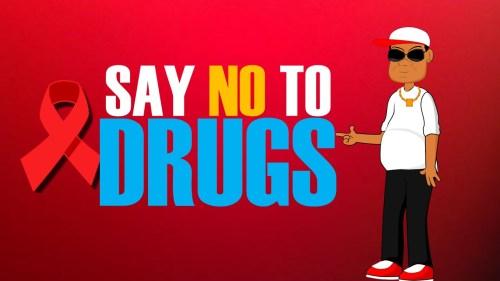 Stan Lee against Drugs
