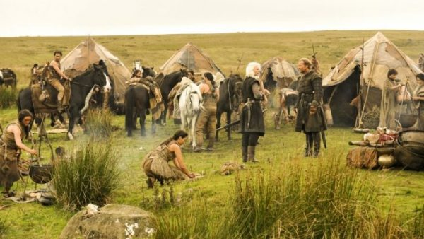 Dothraki tents- game of thrones