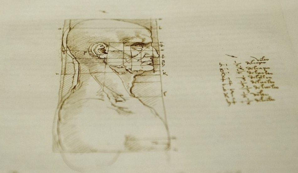 Dettaglio di un'esibizione a Venezia su Leonardo Da Vinci Credits Marco Secchi e Getty Images