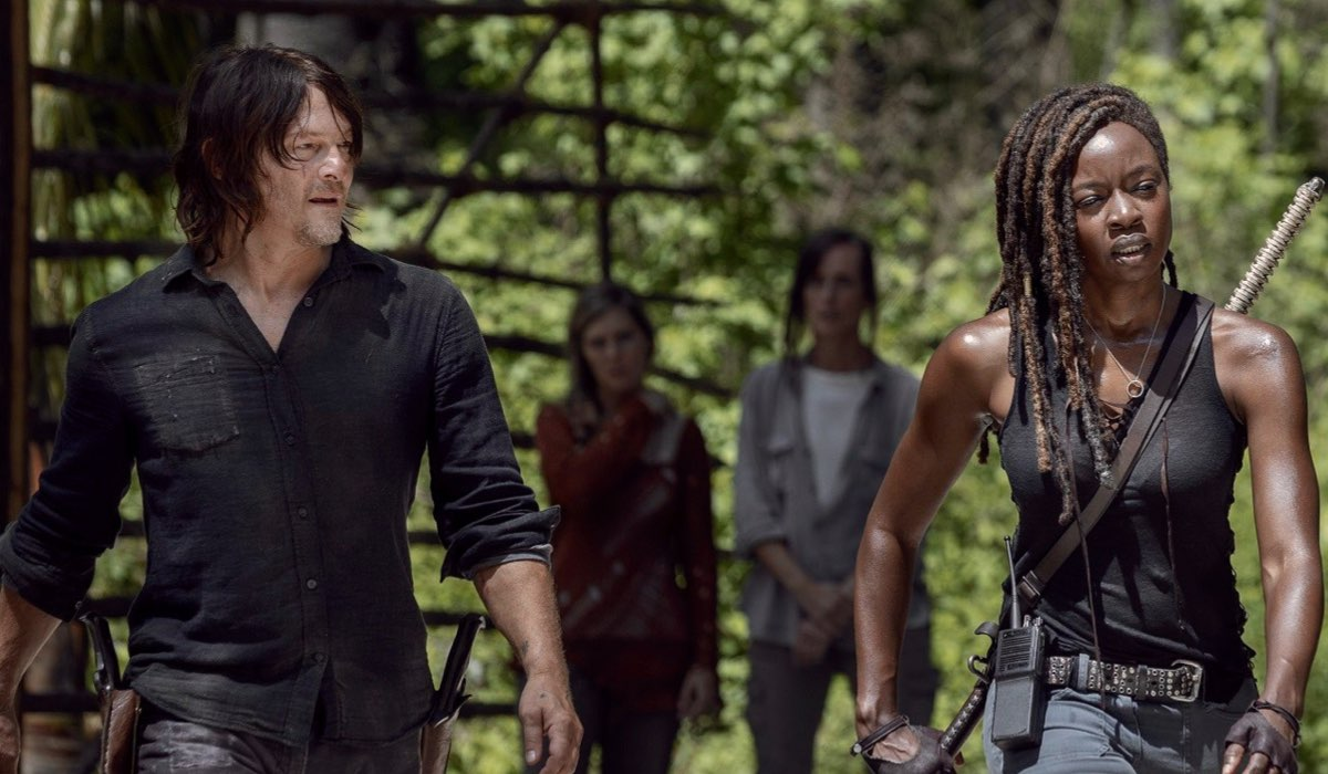 Una scena di The Walking Dead 10 stagione Credits AMC e FOX Italia