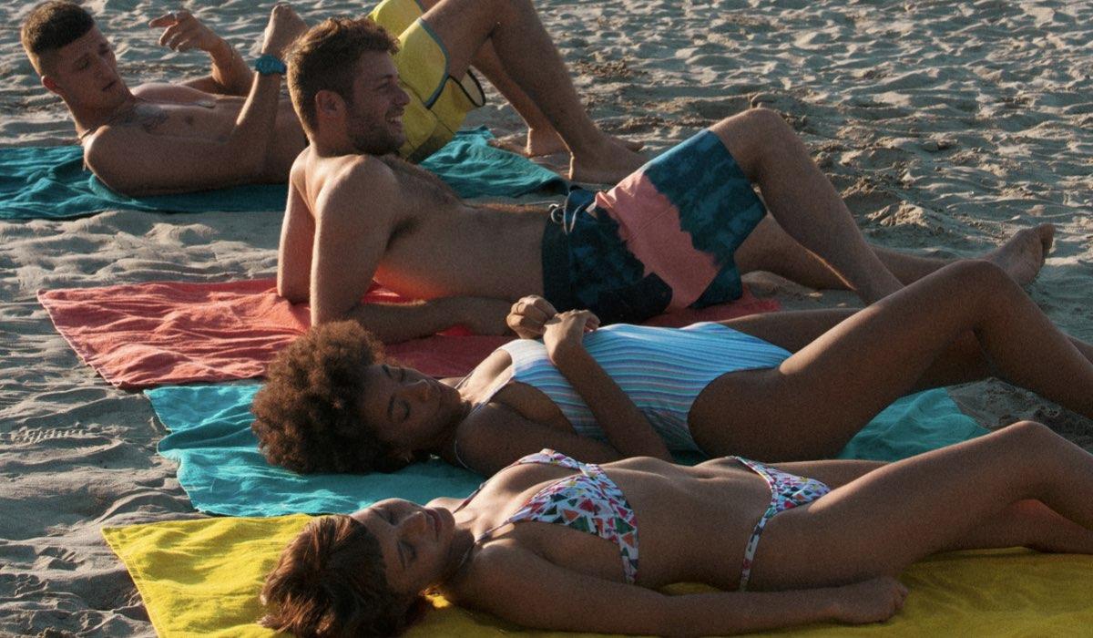 Dario, Ale, Summer e Sofia in Summertime. Credits Netflix