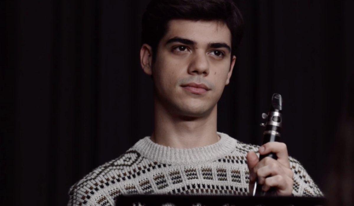 La Compagnia del Cigno Emanuele Misuraca interpreta Domenico, qui nell episodio 4 La scelta di Barbara Credits RAI