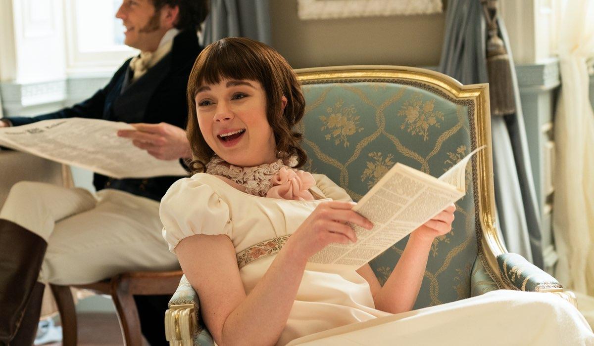 Claudia Jessie interpreta Eloise Bridgerton In Bridgerton Credits Liam Daniel e Netflix