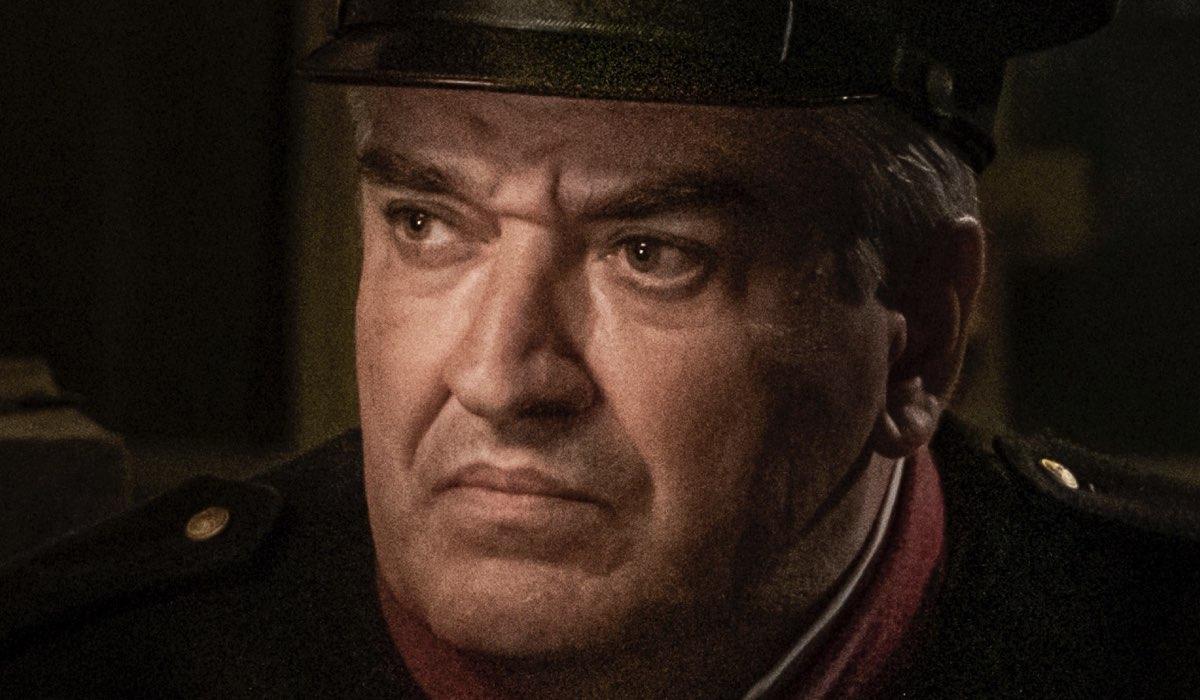 Antonio Milo Interpreta Maione ne Il Commissario Ricciardi. Credits: Anna Camerlingo/Rai