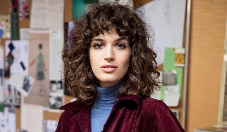 Greta Ferro interpreta Irene Mastrangelo In Made In Italy. Credits: Mediaset