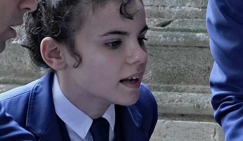Daniela Rubio Interpreta Adele In El Internado: Las Cumbres. Credits: Amazon Prime Video