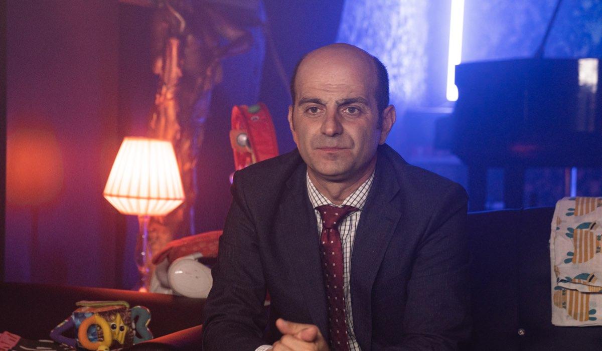 Giovanni Ludeno Interpreta Antonio Forte ne Le Indagini Di Lolita Lobosco. Credits: Duccio Giordano/Rai