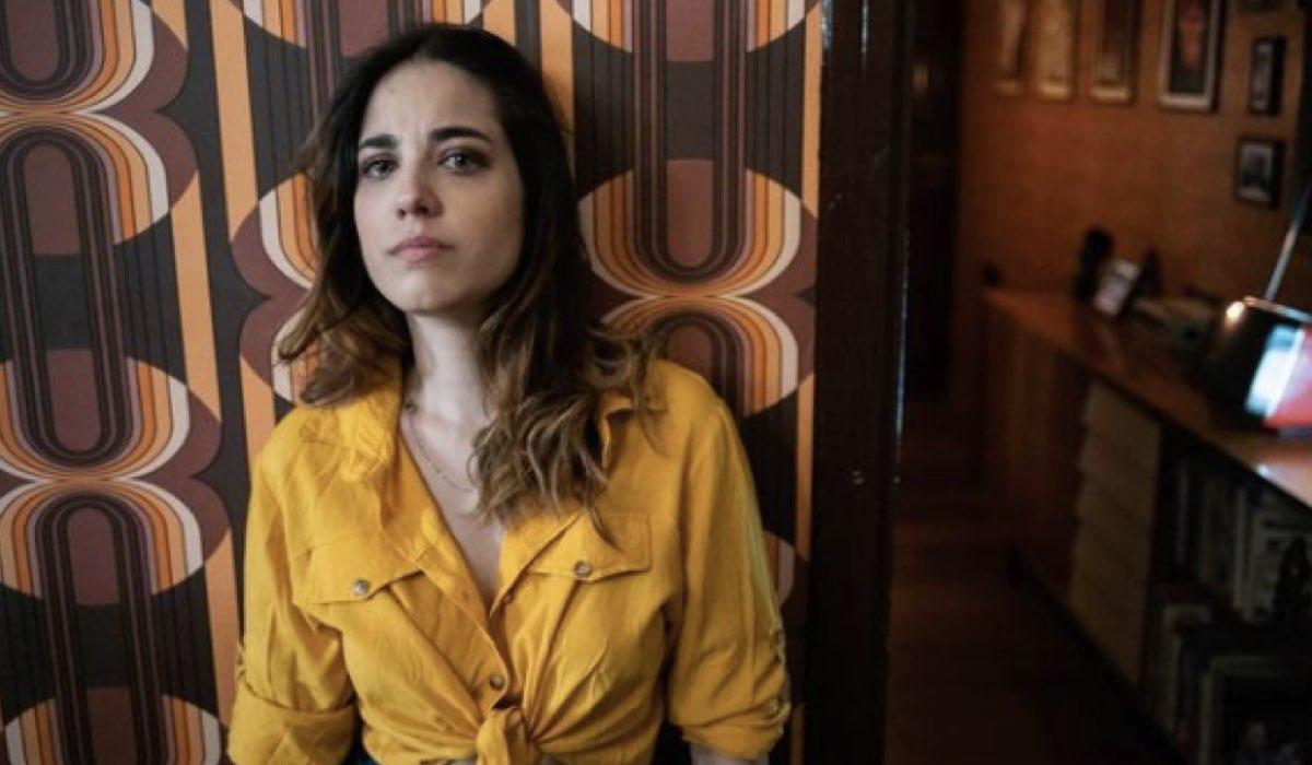 Screenshot Di Una Foto Dell Attrice Gina Amarante (Angela in Lolita Lobosco) Postata Sul Suo Profilo Instagram Ufficiale