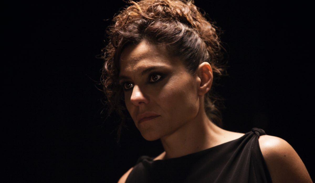 Antonia Truppo Interpreta Maria Ne Il Commissario Montalbano 2021 (Il Metodo Catalanotti). Credits: Duccio Giordano/Rai