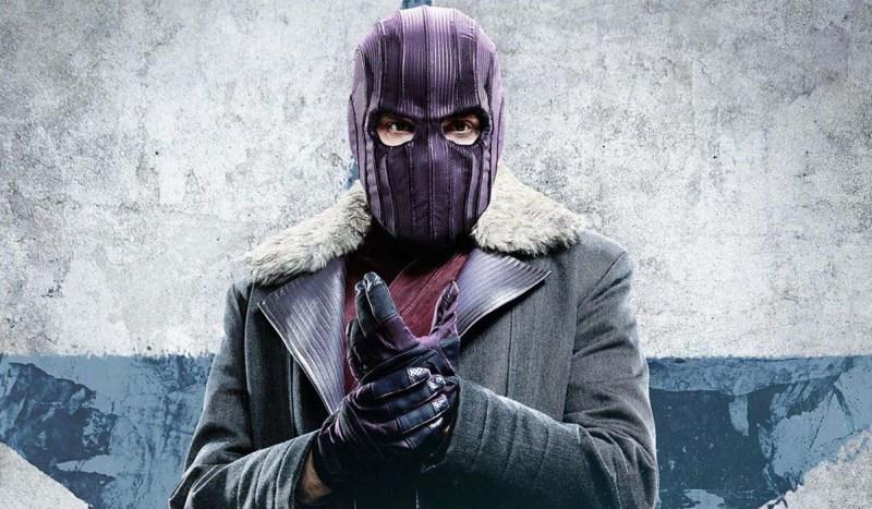 Daniel Brühl è Zemo nella serie TV The Falcon And The Winter Soldier. Credits: The Walt Disney Company.