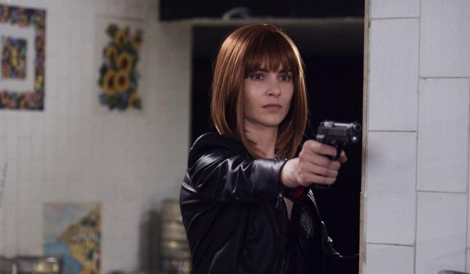 La Fuggitiva: Vittoria Puccini interpreta Arianna Comani, qui in una foto di scena Credits Rai