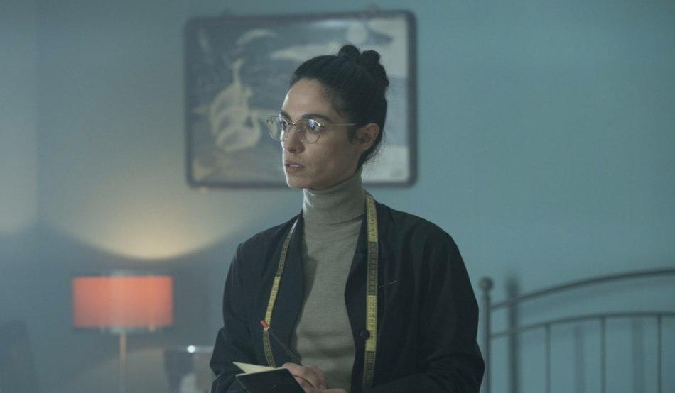 Roberta Mattei nel ruolo di Katia, La Picciridduna. Credits: Greta De Lazzaris/Sky.
