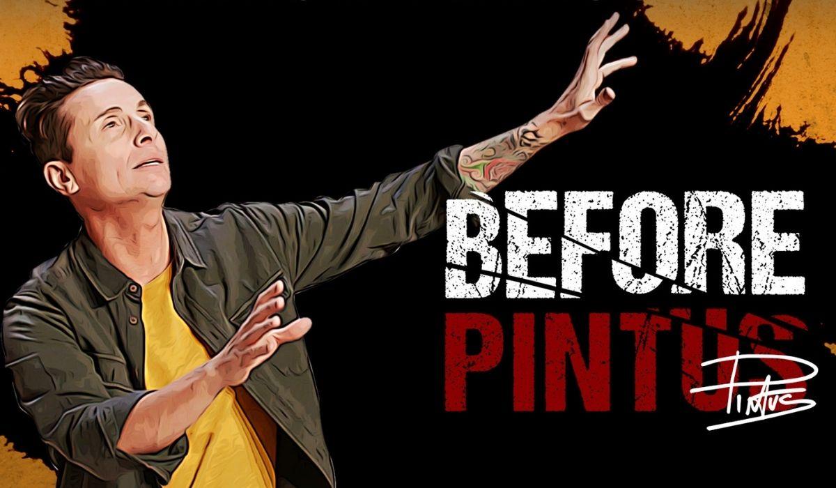 """Il poster della serie tv """"Before Pintus"""" di Amazon. Credits: Prime Video."""