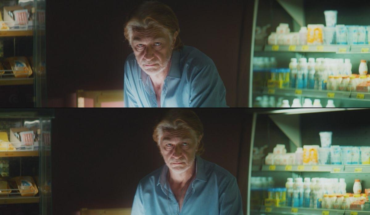 """Tommaso Ragno nei panni del padre dei gemelli Michelini nel terzo episodio di """"Anna"""". Credits: Sky."""