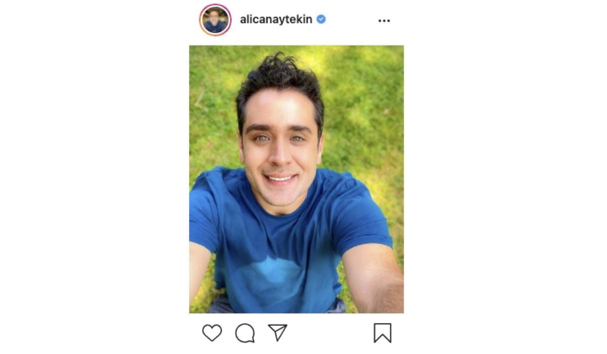 Screenshot Di Una Foto Di alican aytekin (Seyfi In Love Is In The Air) Condivisa Sul Suo Profilo Instagram Ufficiale