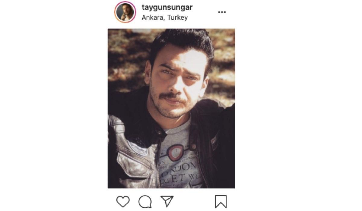 Screenshot Di Una Foto Di Taygun Sungar (Soner Seçkin In Mr. Wrong) Condivisa Sul Suo Profilo Instagram Ufficiale