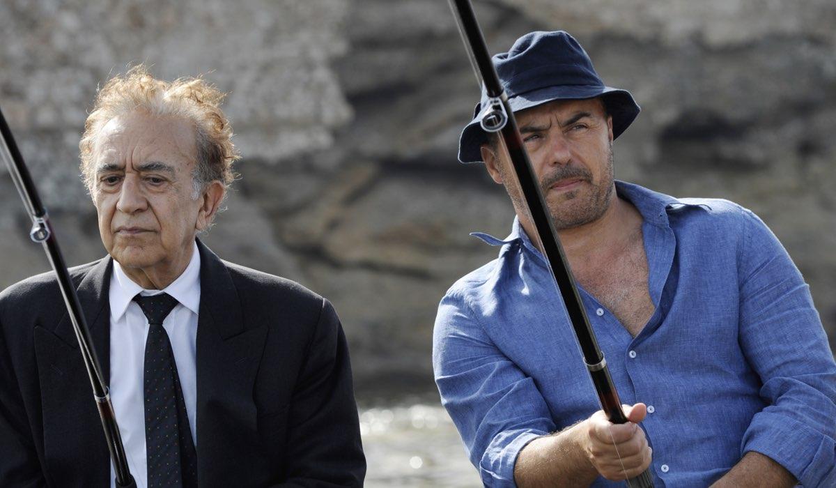 Tuccio Musumeci e Luca Zingaretti In Montalbano La Danza Del Gabbiano Credits: Fabrizio Di Giulio/Rai