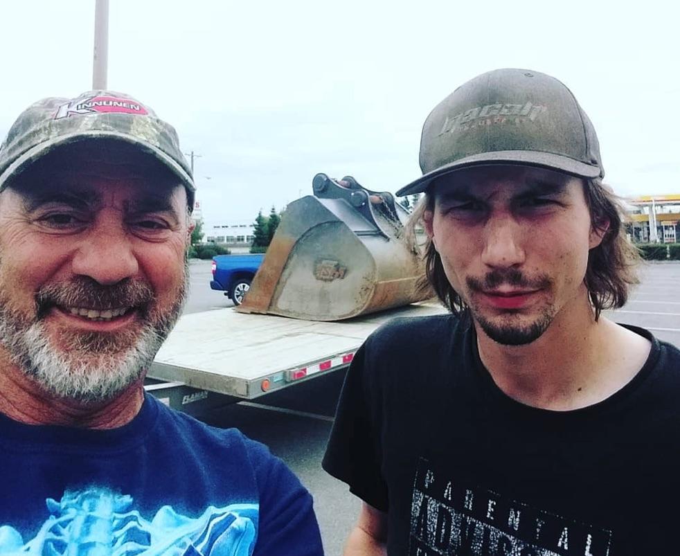 Chris Doumitt, Parker Schnabel, Gold Rush-https://www.instagram.com/p/Bllwz1xg8Lx/