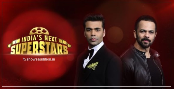 India's Next Superstar Audition, Registration, Date, Place