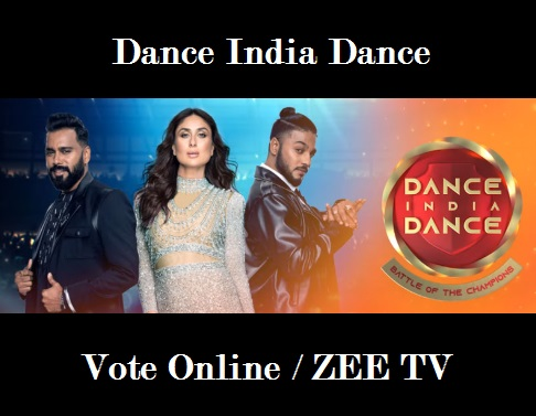 Dance India Dance Vote, Voting Line, Online, SMS, Missed Call