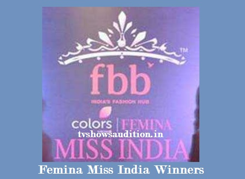Femina Miss India Winners, Name List, Profile, Pictures, Images