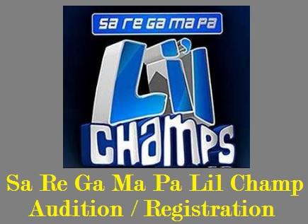 Sa Re Ga Ma Pa Lil Champ Audition