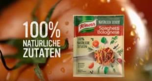 Song aus der Knorr Werbung natürlich lecker