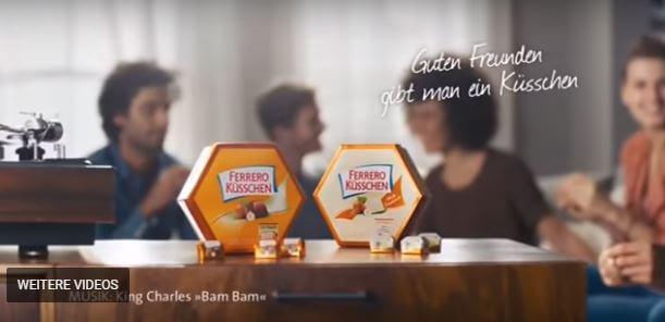 Ferrero Küsschen - Lied aus der Werbung Januar 2018