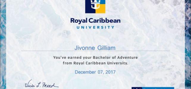 Royal Caribbean Certified!