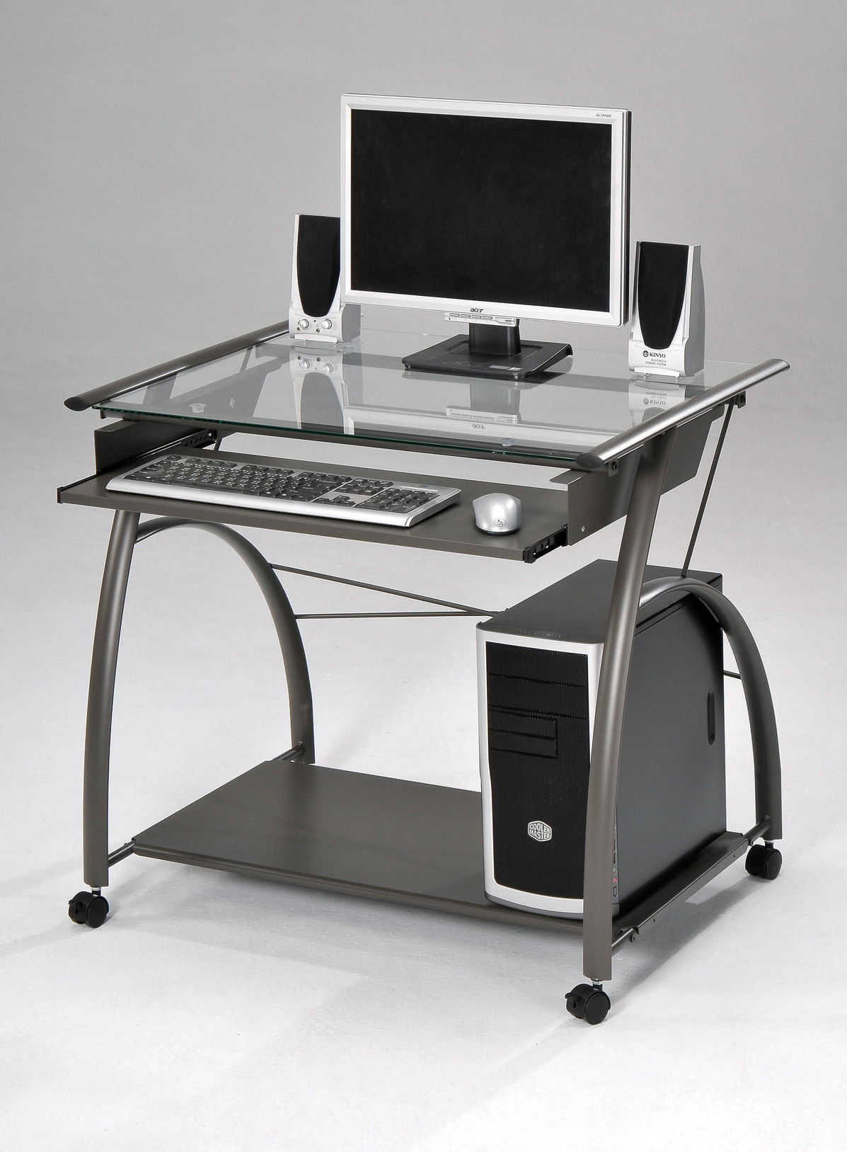 Acme Vincent Metal Computer Desk 00118