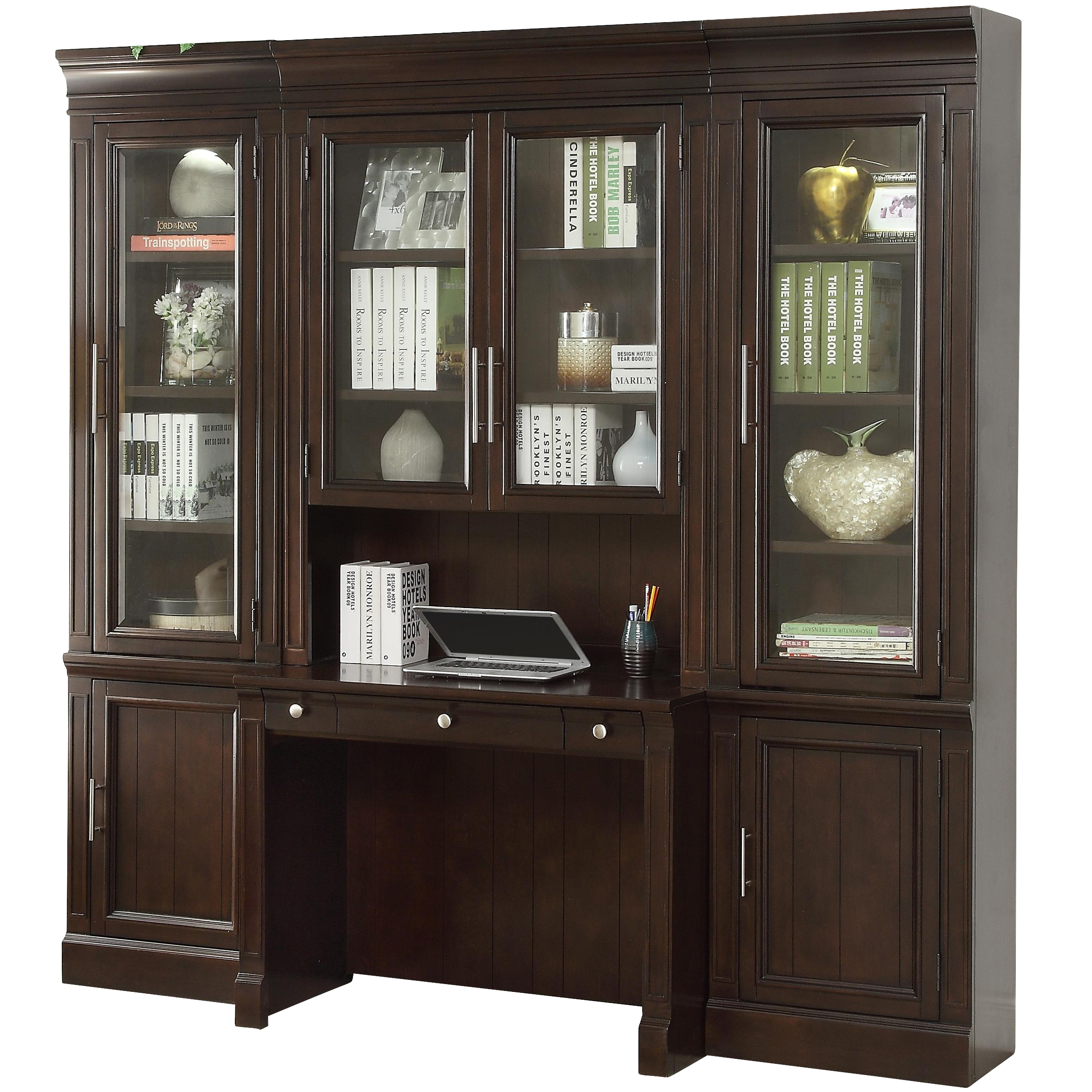 Parker House Stanford Library Wall Unit w Desk