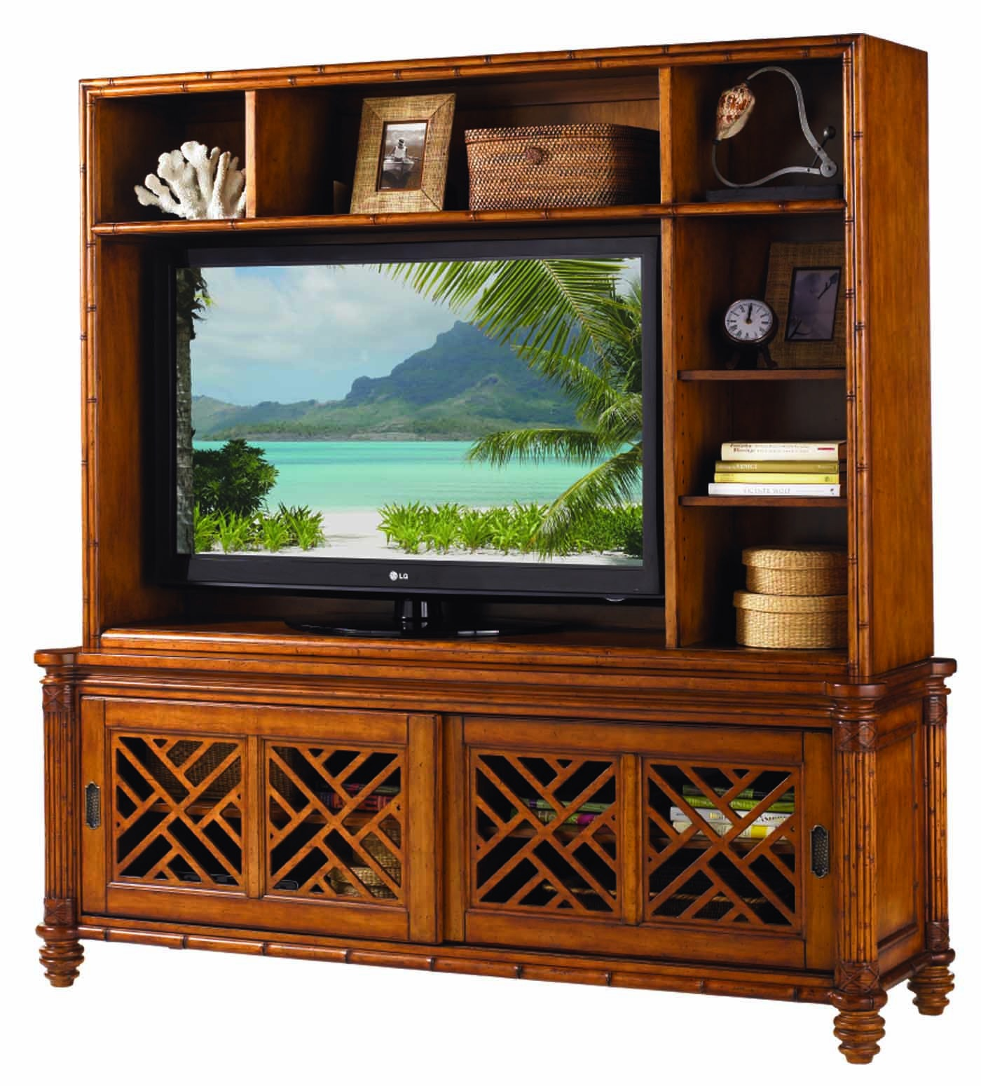 Tommy Bahama Island Estate Nevis Media Console Amp Hutch