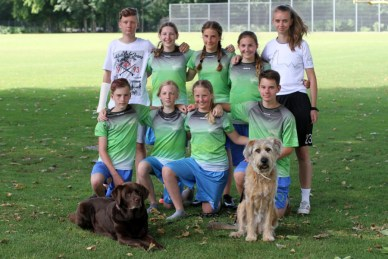Ultimate Frisbee Team in Köln