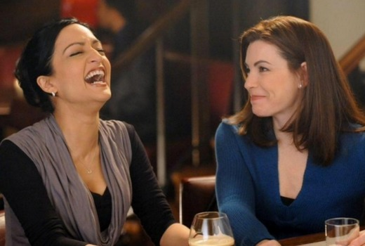 Julianna Margulies Denies Feud With Archie Panjabi But