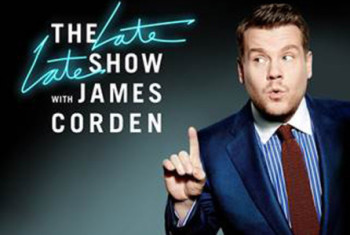 Image result for **WINNER: The Late Late Show with James Corden – CBS