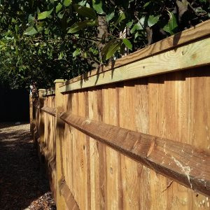 Fence built by Robert