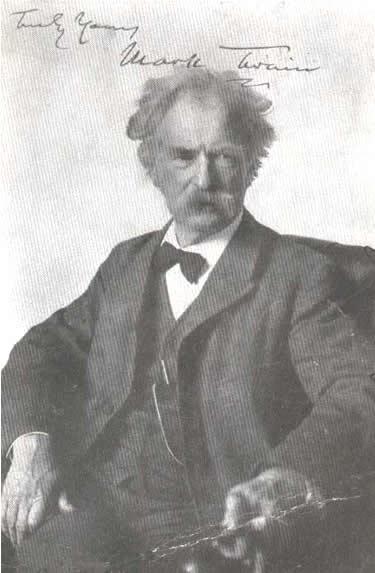 Mark Twain quotations Insanity