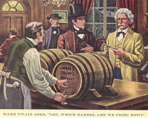 Twain in Old Crow ad