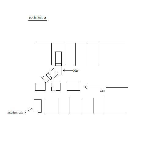 car parking diagram